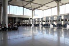 Aéroport de Malaga Images stock