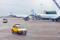 Aéroport de Manchester Images stock