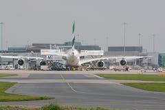 Aéroport de Manchester Photos stock