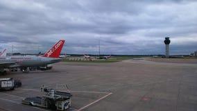 Aéroport de Manchester Photographie stock