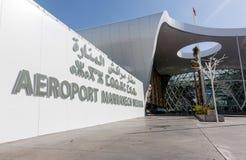 Aéroport de Marrakech Menara Extérieur de l'aéroport de Marrakech M Photo libre de droits