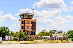 Aéroport de Maun, Botswana Image stock