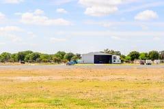 Aéroport de Maun, Botswana Photo stock
