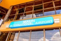 Aéroport de Maun, Botswana Images libres de droits