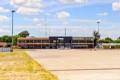 Aéroport de Maun, Botswana Images stock
