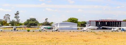 Aéroport de Maun, Botswana Photographie stock