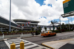 Aéroport de Miami Photos libres de droits