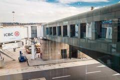 Aéroport de Milan Malpensa Photos libres de droits