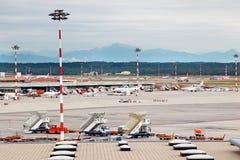 Aéroport de Milan Malpensa Photographie stock libre de droits