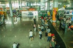 Aéroport de montagne de Baiyun à Canton, porcelaine Images libres de droits