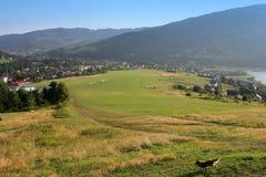 Aéroport de montagne pour des planeurs, montagne de ZAR Image libre de droits