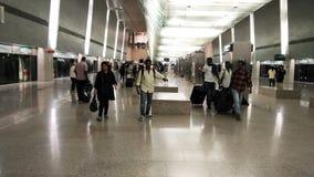 Aéroport de MRT Singapour Changi Image stock