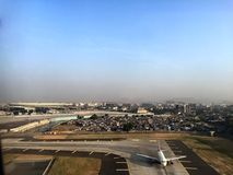 Aéroport de Mumbai Images libres de droits