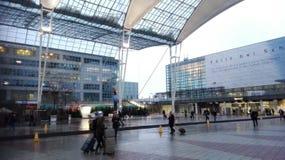 Aéroport de Munchen Photographie stock libre de droits