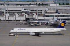 Aéroport de Munich Photos stock