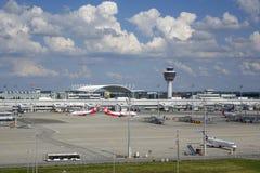 Aéroport de Munich, Bavière, Allemagne Photographie stock
