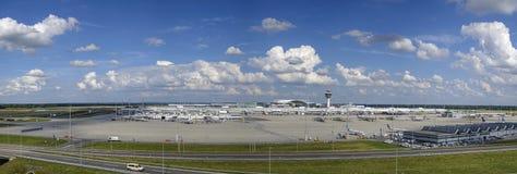 Aéroport de Munich, Bavière, Allemagne Image stock