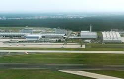 Aéroport de Munich en Allemagne Photographie stock