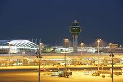 Aéroport de Munich Franz Josef Strauss Image stock