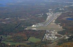 Aéroport de Muskoka, aérien Photographie stock libre de droits