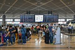 Aéroport de Narita, Tokyo, Japon Image stock