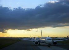 Aéroport de New York Photographie stock libre de droits