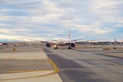 Aéroport de Newark Photographie stock