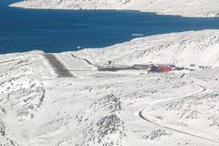 Aéroport de Nuuk Photo libre de droits