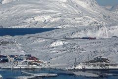 Aéroport de Nuuk Photographie stock