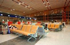 Aéroport de Pékin, Chine. Images libres de droits