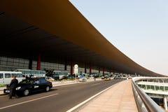 Aéroport de Pékin - terminal 3 d'extérieur photo libre de droits