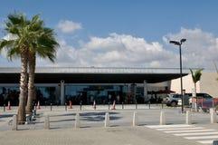 Aéroport de Pafos - Chypre Photographie stock