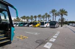 Aéroport de Palma de Mallorca en juillet Photo libre de droits