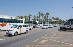 Aéroport de Palma de Mallorca en juillet Photo stock