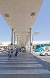 Aéroport de Palma de Mallorca en juillet Image stock