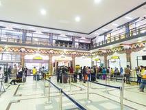 Aéroport de Paro au Bhutan Image stock