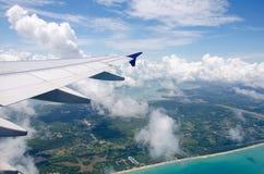 aéroport de Phuket de vue supérieure Image stock