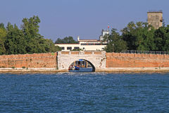 Aéroport de piscine découverte de Venise Images stock