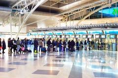 Aéroport de Porto Image libre de droits
