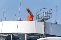 Aéroport de radar Photo libre de droits