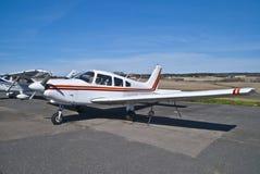 Aéroport de Rakkestad, Aastorp (avion de propulseur) Photographie stock