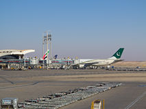 Aéroport de Riyadh Photographie stock