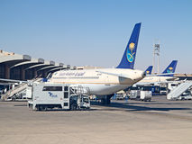 Aéroport de Riyadh Images stock