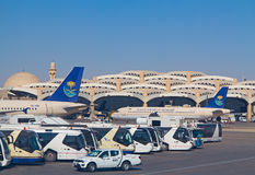 Aéroport de Riyadh Photographie stock libre de droits