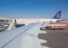 Aéroport de Riyadh Image libre de droits