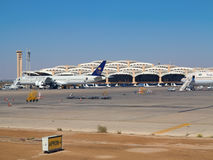 Aéroport de Riyadh Photo stock