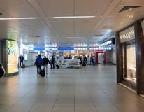 Aéroport de Rome Images libres de droits
