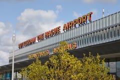 Aéroport de Rotteram Photographie stock libre de droits