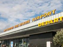 Aéroport de Rotterdam-Le la Haye Images libres de droits