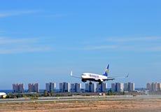 Aéroport de Ryanair Alicante Image stock